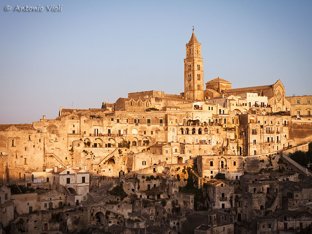 "Sasso Barisano, the ""Sassi"" of Matera."