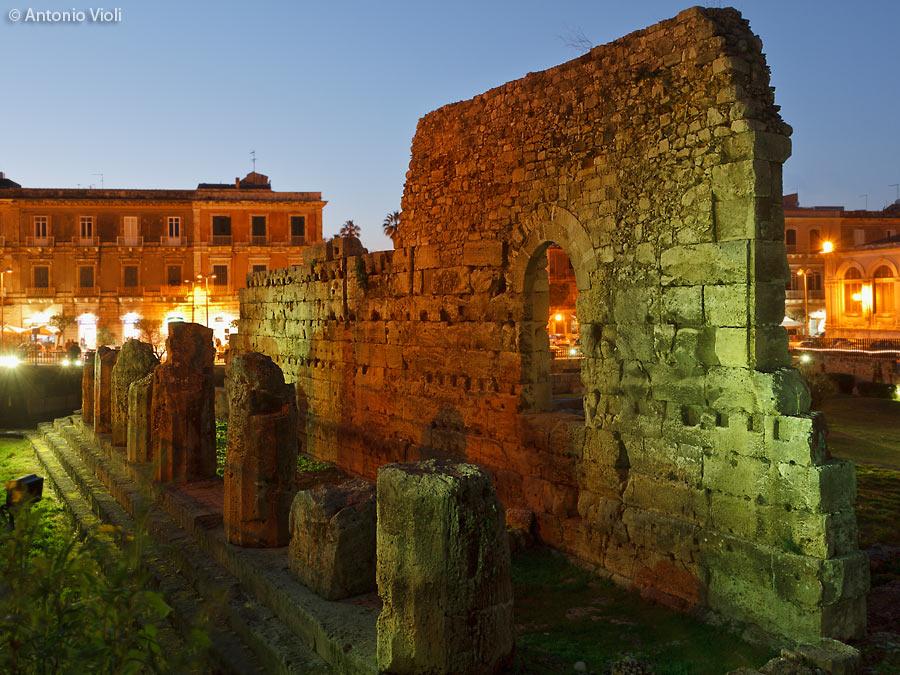 Siracusa, Temple of Apollo
