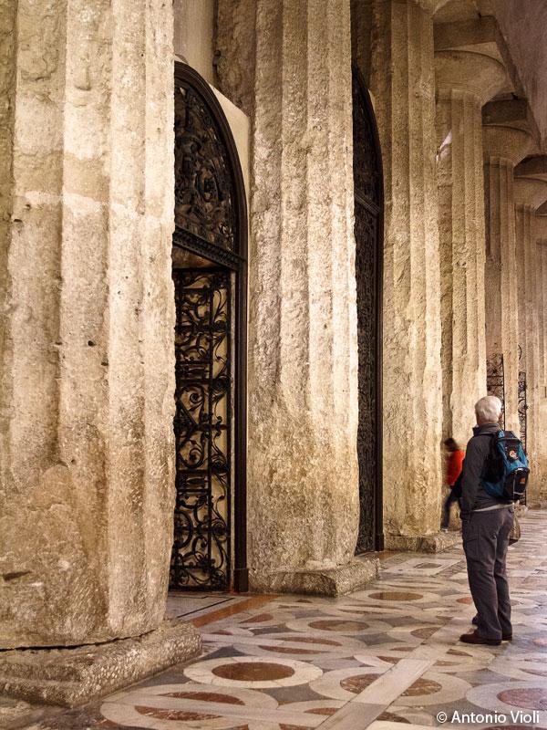Colonne doriche del Duomo di Siracusa.