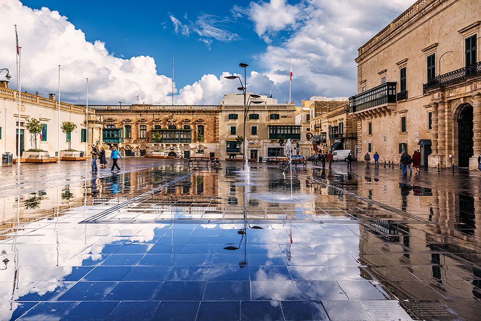 St George's Square, Valletta, Malta