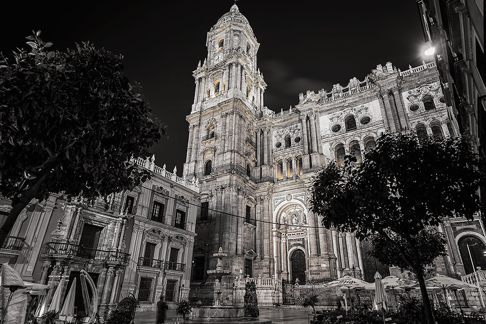The Cathedral of Malaga, Spain.