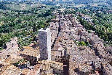 Townview of San Gimignano