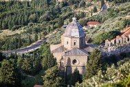 Madonna del Calcinaio church, Cortona, Tuscany, Italy.