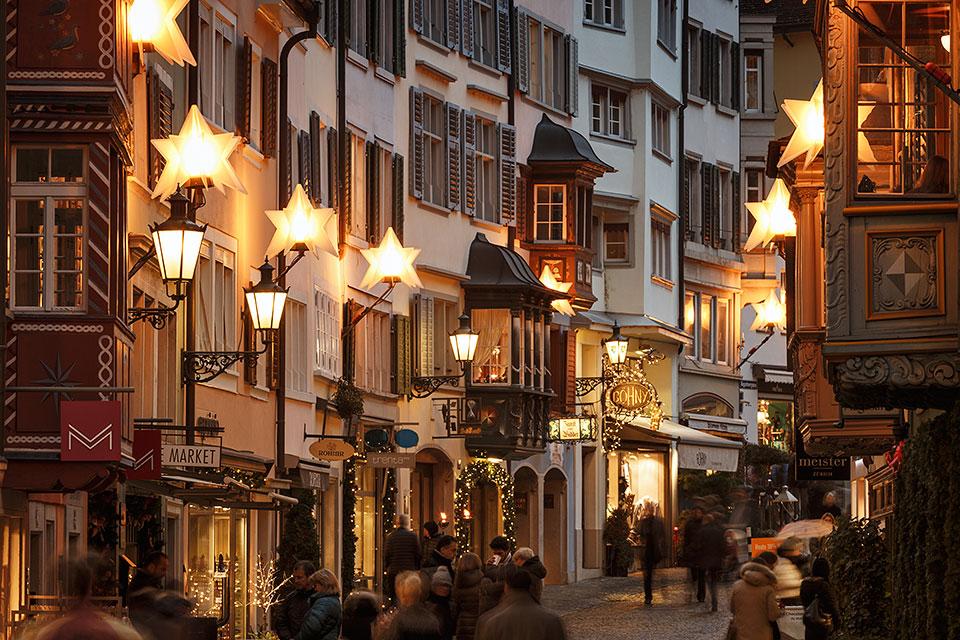Christmas Decoration, Zurich