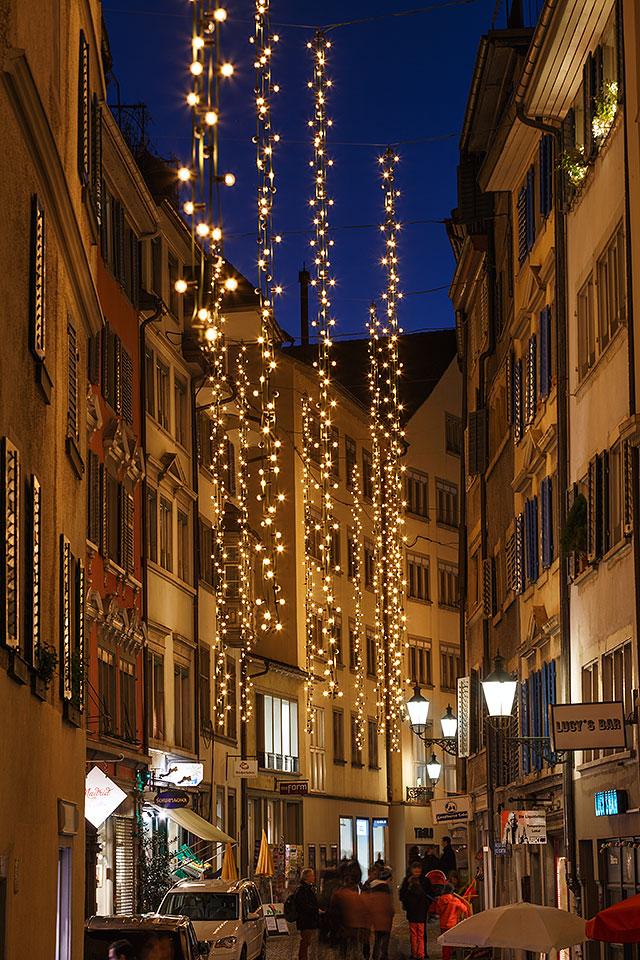 Christmas Time In Zurich Antonio Violi