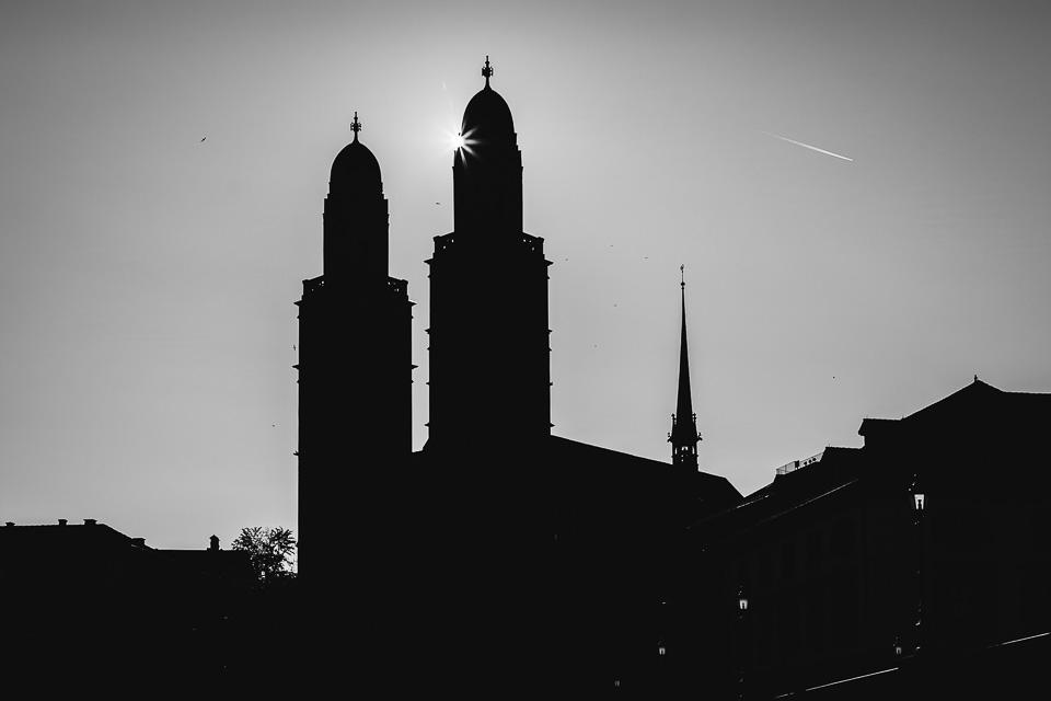 Grossmünster church, Zürich, Switzerland