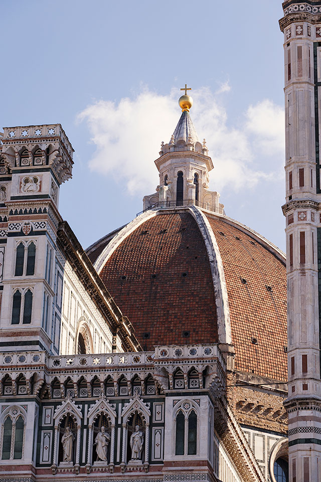 Brunellsechi's Dome, Cathedral(Duomo), Florence, Tuscany, Italy.