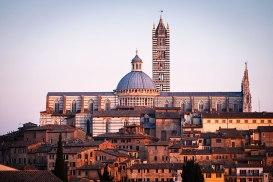 The Duomo (Cathedral, Siena, Tuscany, Italy.