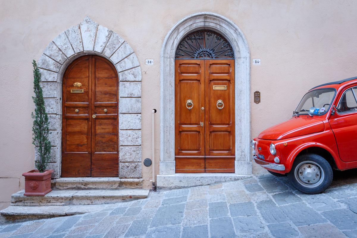 In Montepulciano