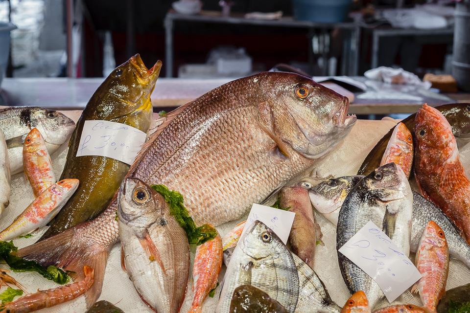 Catania - La Pescheria Fish Market
