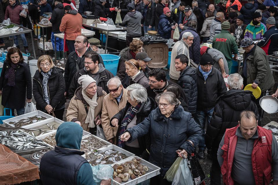 Mercato Pescheria, Catania, Sicilia, Italia