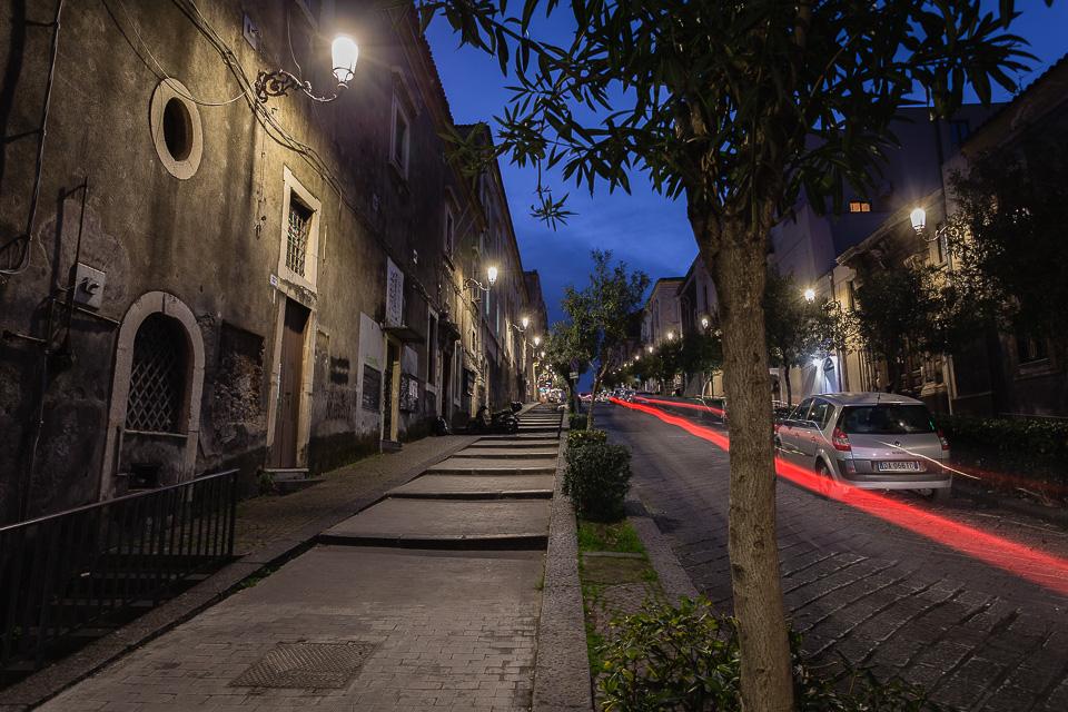 Via San Giuliano street in Catania, Sicily