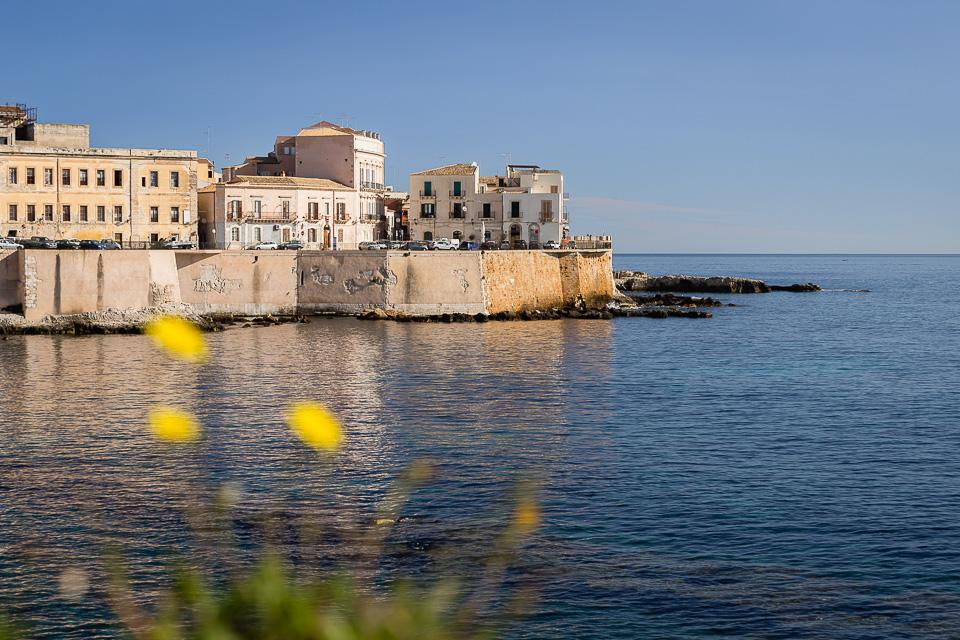 Eastern waterfront of Ortigia, Siracusa, Sicily