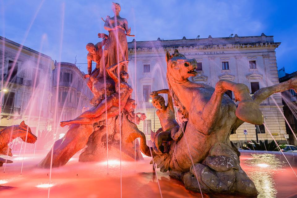 Siracusa - Fountain of Diana