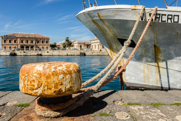Siracusa - Quay of the Port