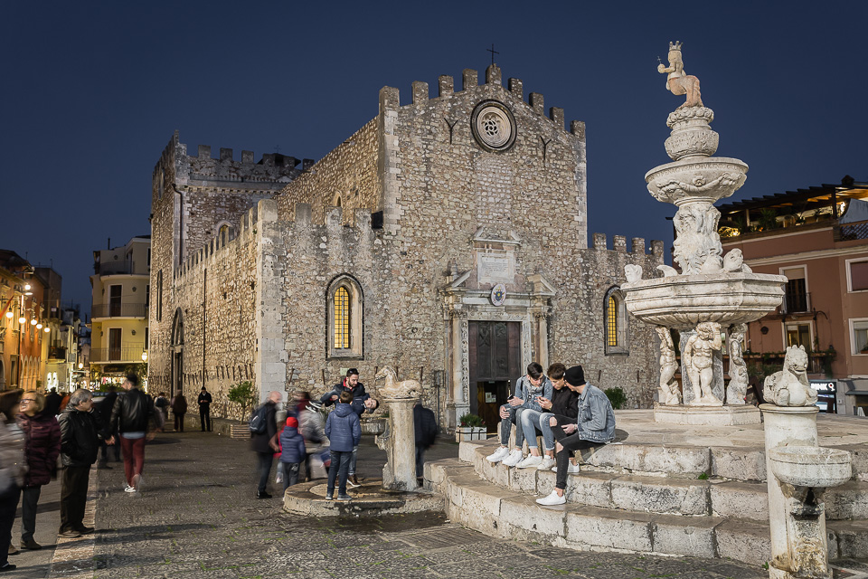 Duomo (Cathedral) of Taormina, Sicily.