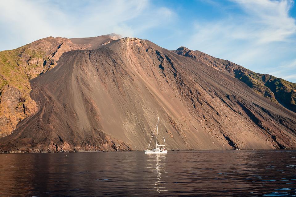 SCIARA DEL FUOCO, the volcanic slopes of the island of Stromboli