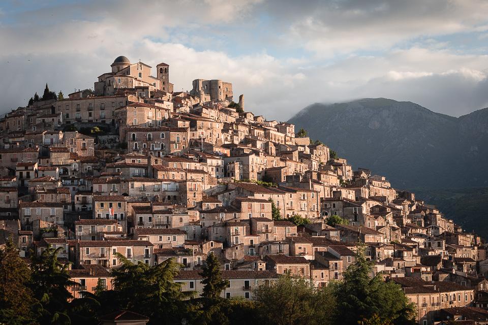 Town of Morano Calabro, Calabria, Italy