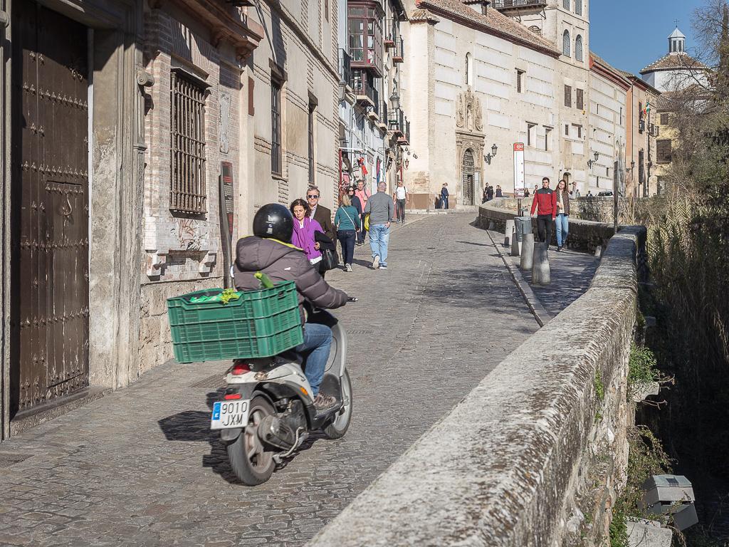 Carrera del Darro, Albaicìn, Granada, Andalusia, Spain