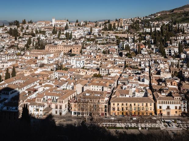 Alhambra, Albaicín, Granada, Andalusia, SPagna