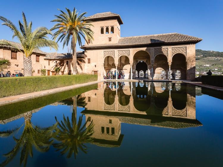 El Partal, Alhambra, Granada, Andalusia, Spagna