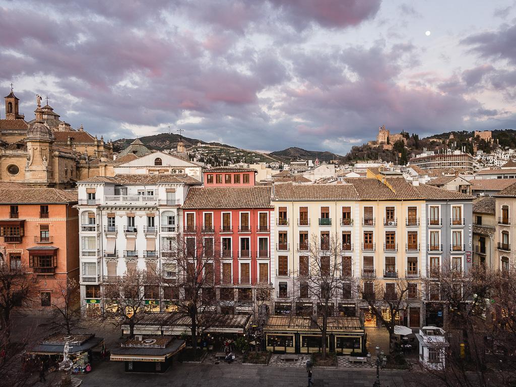 Bib-Rambla, Granada, Andalusia, Spain