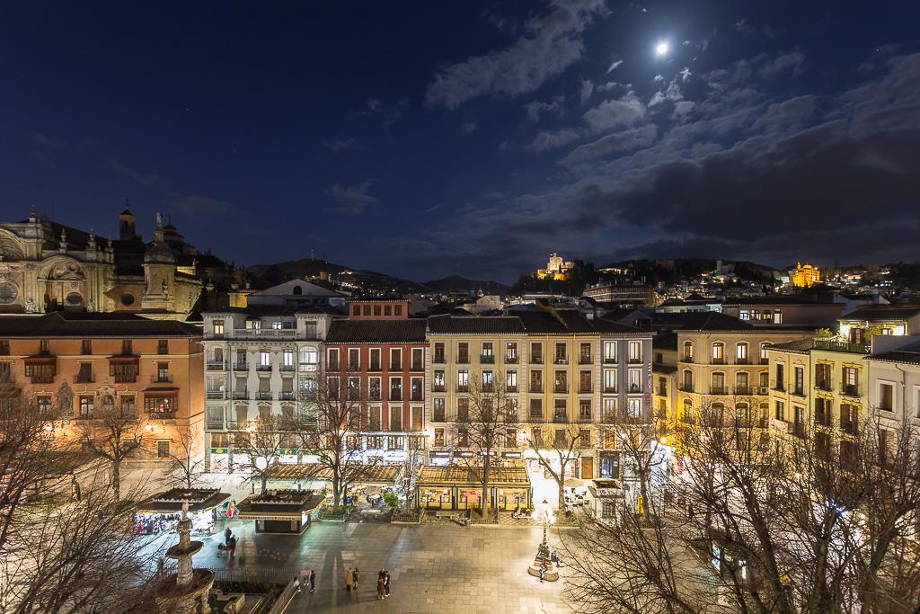 Plaza Bib-Rambla, Granada, Andalusia, Spain
