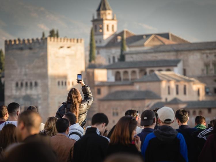 Mirador de San Nicolas, Granada, Andalusia, Spagna