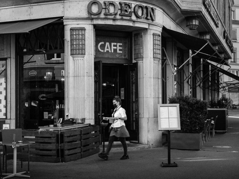 Caffè bar Odeon, Zurigo, centro storico, Svizzera