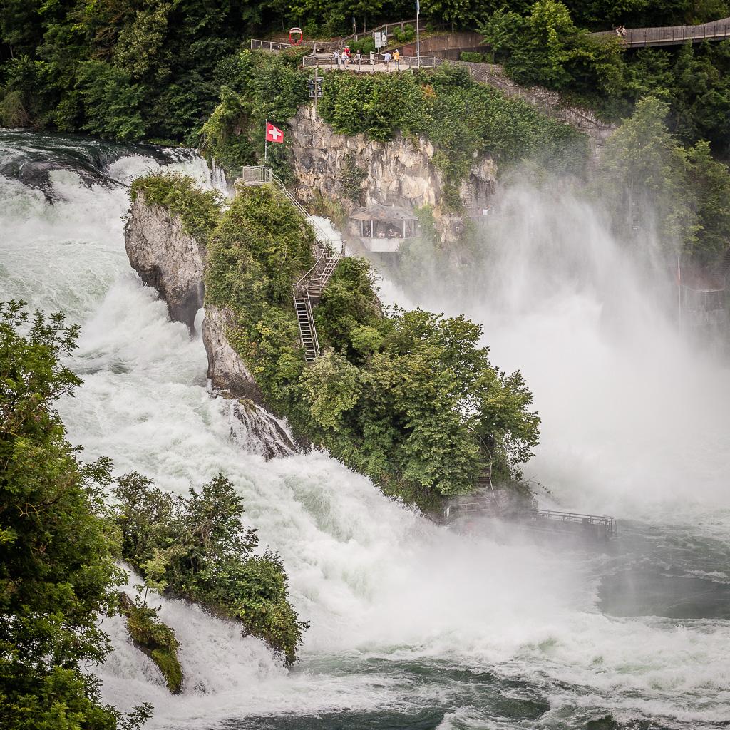 Cascate del Reno, Sciaffusa, Schaffhausen, Svizzera